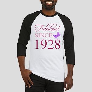 1928 Fabulous Birthday Baseball Jersey