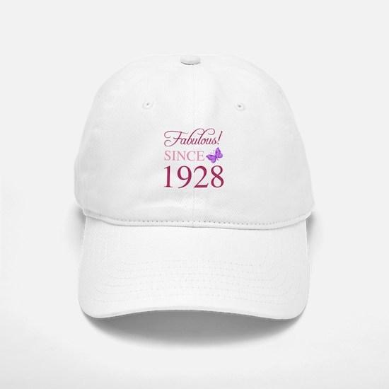 1928 Fabulous Birthday Baseball Baseball Cap