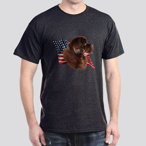 Newfie Flag Dark T-Shirt
