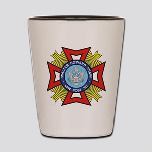VFW Post 327 logo Shot Glass