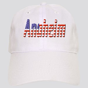 Patriotic Anaheim Baseball Cap