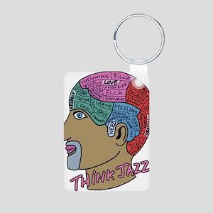 THINK JAZZ! Keychains