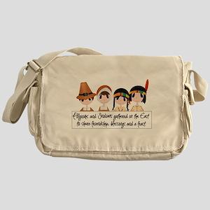 Pilgrim Poem Messenger Bag