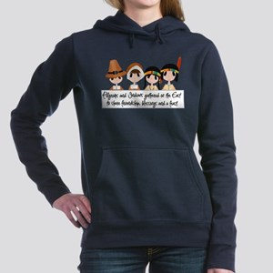 Pilgrim Poem Women's Hooded Sweatshirt