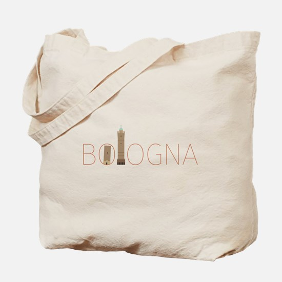 Bologna due torri Tote Bag