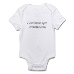 Anesthesiologist Assistant Infant Bodysuit