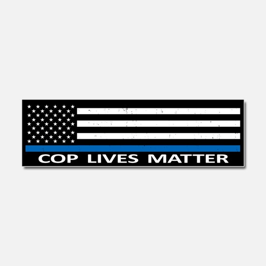 Cop Lives Matter Car Magnet 10 x 3