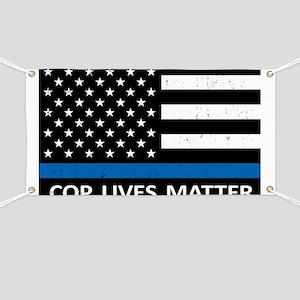 Cop Lives Matter Banner