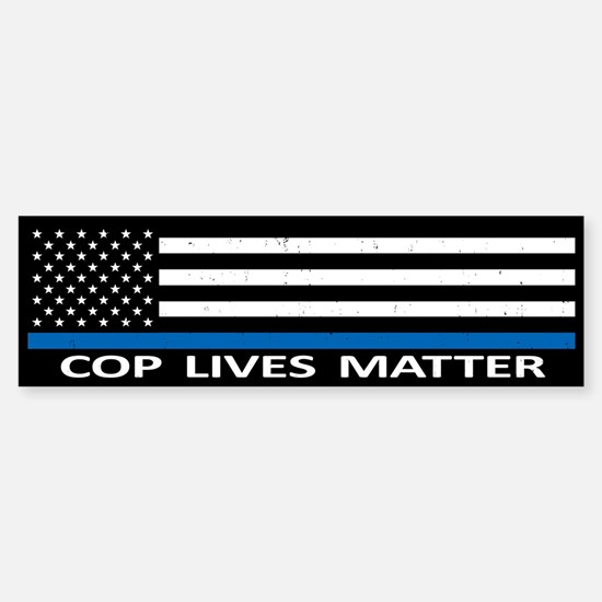 Cop Lives Matter Sticker (Bumper)