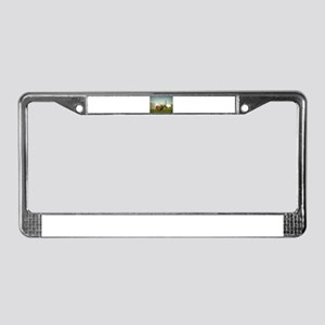 Lunch Time License Plate Frame
