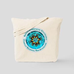 CRPS RSD Blazing Hand Starburst on Dual I Tote Bag