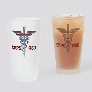 CRPS / RSD Medical Alert Drinking Glass