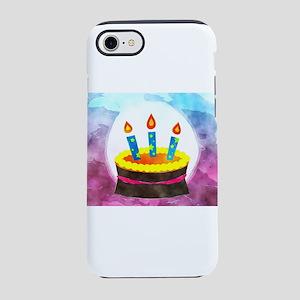 Watercolor Birthday Cake iPhone 8/7 Tough Case