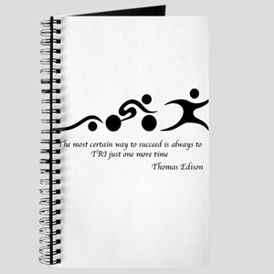 The most certain way to succeed is always Journal