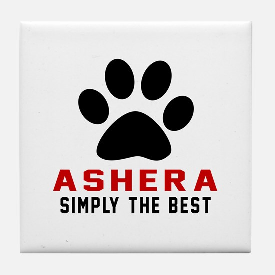 Ashera The Best Cat Designs Tile Coaster