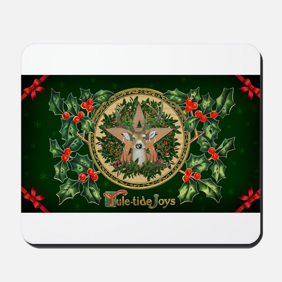Yuletide Joys Mousepad