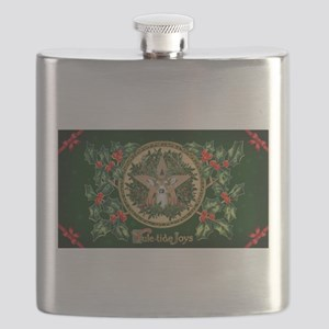 Yuletide Joys Flask
