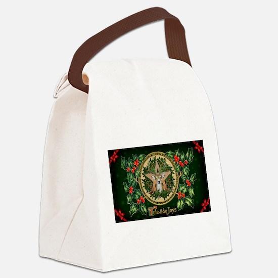 Yuletide Joys Canvas Lunch Bag