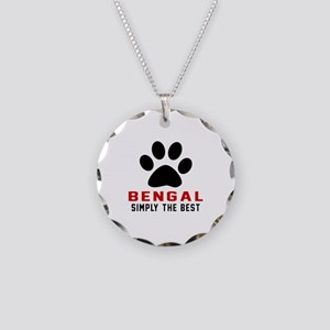 Bengal Simply The Best Cat D Necklace Circle Charm