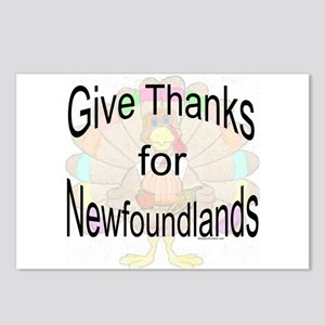 Thanks for Newfie Postcards (Package of 8)