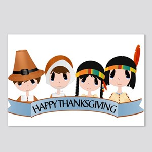 Happy Thanksgivng Postcards (Package of 8)