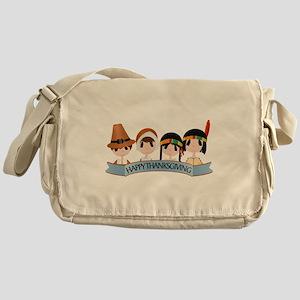 Happy Thanksgivng Messenger Bag