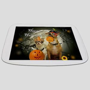 Happy Halloween Chihuahuas Bathmat