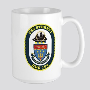 USS Sterett Large Mug