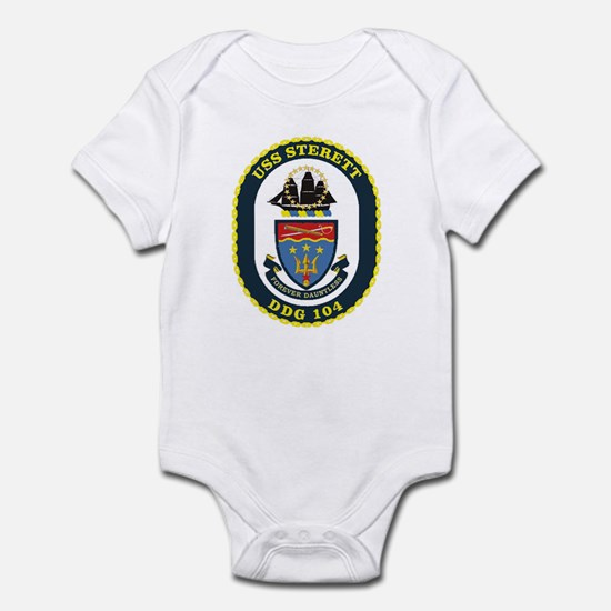 DDG 104 USS Sterett Infant Bodysuit