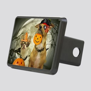 Halloween Chihuahuas Rectangular Hitch Cover