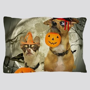 Halloween Chihuahuas Pillow Case