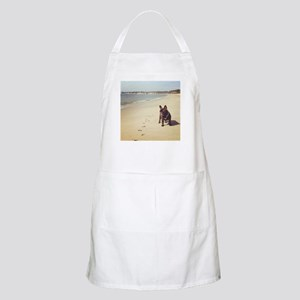 French Bulldog on the Beach Apron