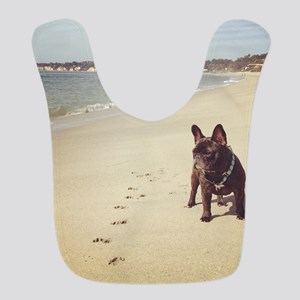 French Bulldog on the Beach Bib