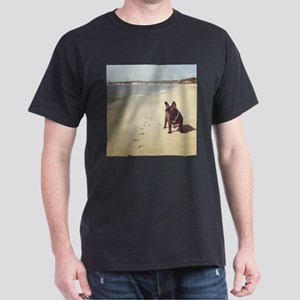 French Bulldog on the Beach T-Shirt