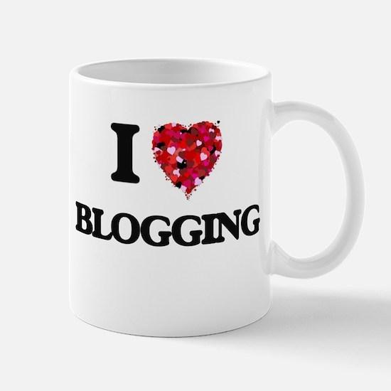 I Love Blogging Mugs