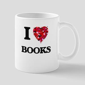 I Love Books Mugs
