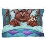 Barney The Bear Pillow Case