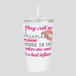 They Call Me Auntie Acrylic Double-wall Tumbler