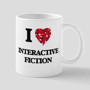 I Love Interactive Fiction Mugs