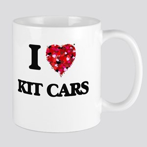 I Love Kit Cars Mugs