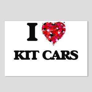 I Love Kit Cars Postcards (Package of 8)