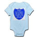 YHVH Is My Shield Infant Creeper