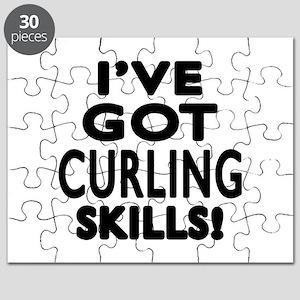 Curling Skills Designs Puzzle