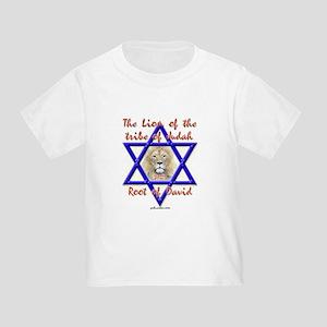 Lion Of The Tribe Of Judah Toddler T-Shirt