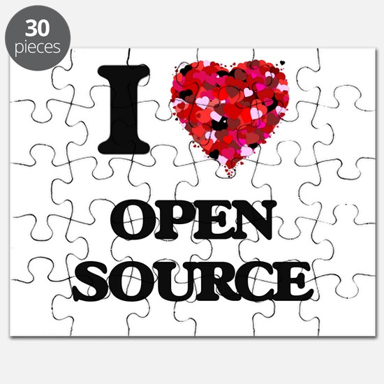 I Love Open Source Puzzle