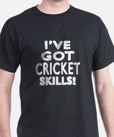 Cricket Skills Designs T-Shirt