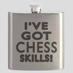 Chess Skills Designs Flask