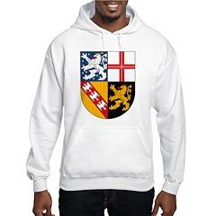 Saarland Coat of Arms Hoodie