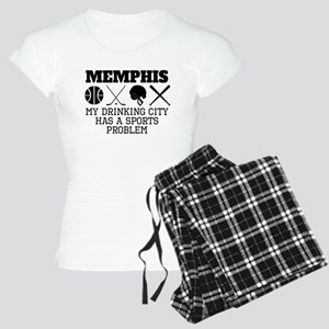 Memphis Drinking City Sports Problem Pajamas