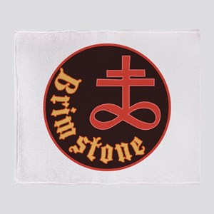 Brimstone Symbol Throw Blanket